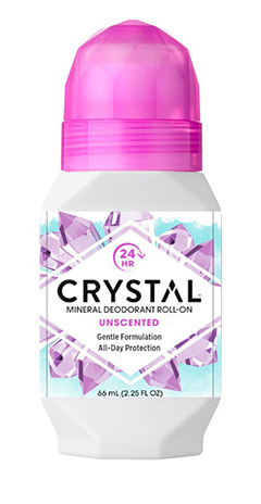 Crystal Body Deodorant Roll-On 66ml