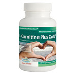 L-Carnitine and CoQ10 - burn fat